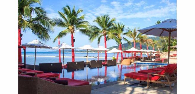 Beach Republic boutique hotel, Ko Samui